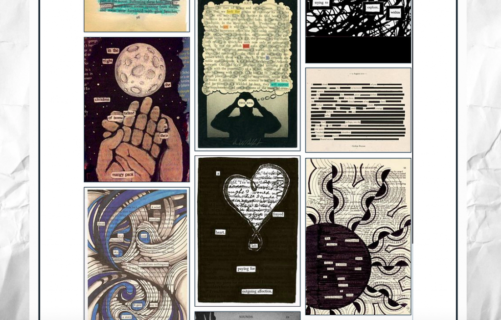 examples of blackout poetry