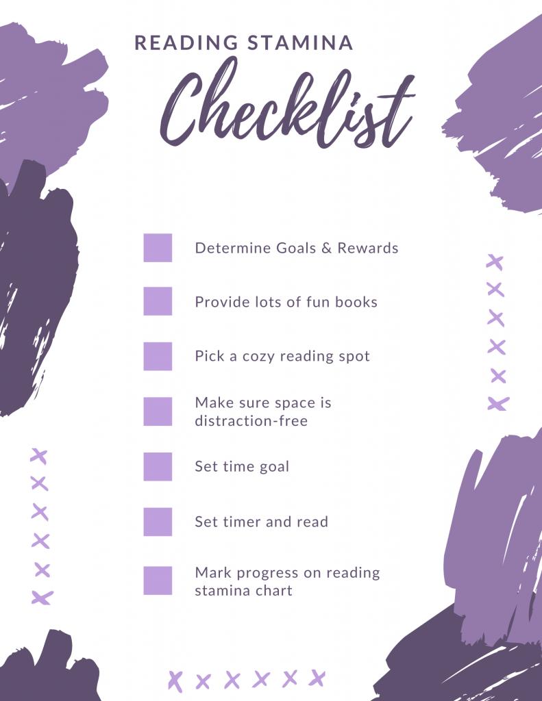stamina checklist