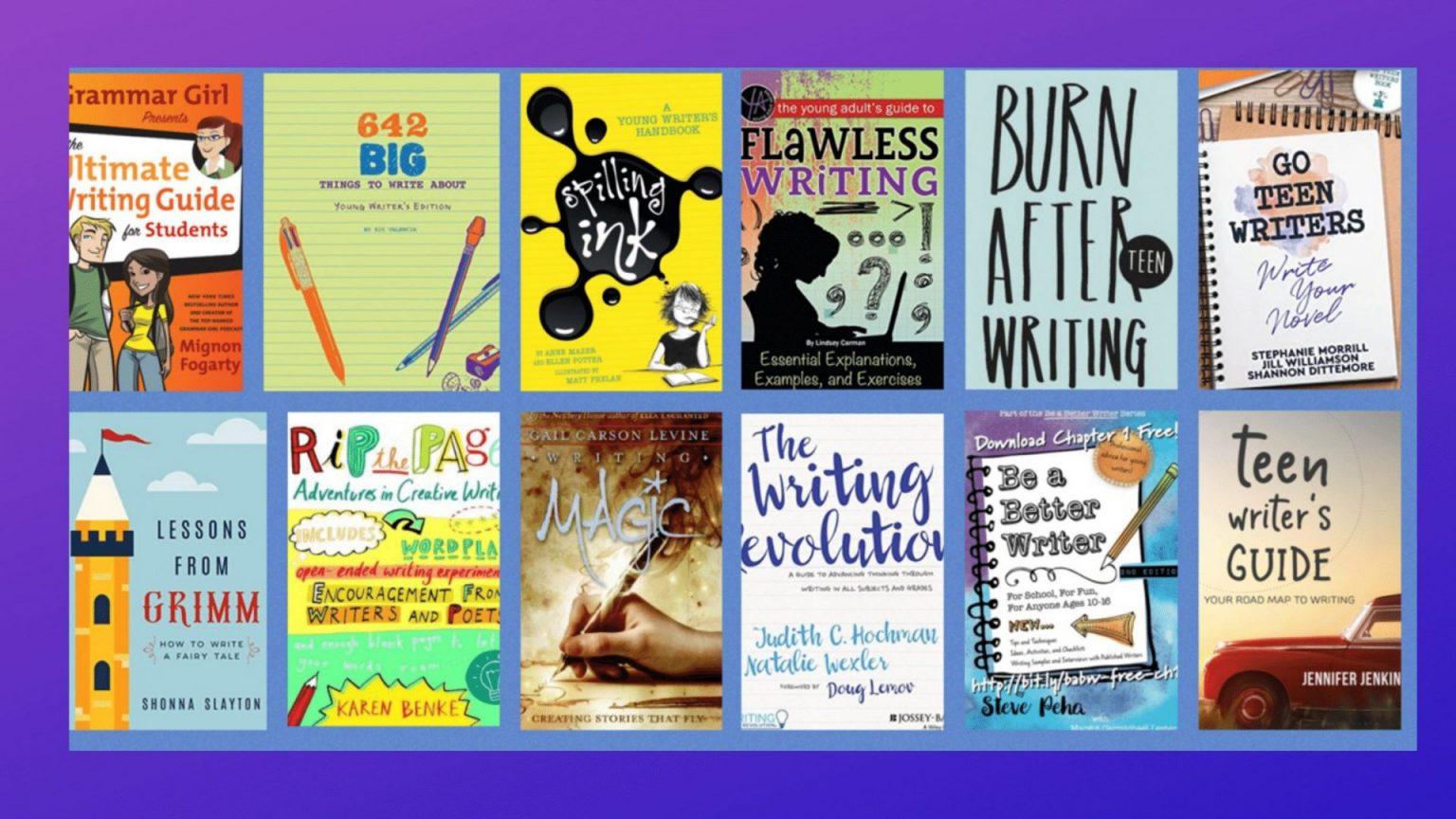 school writing books