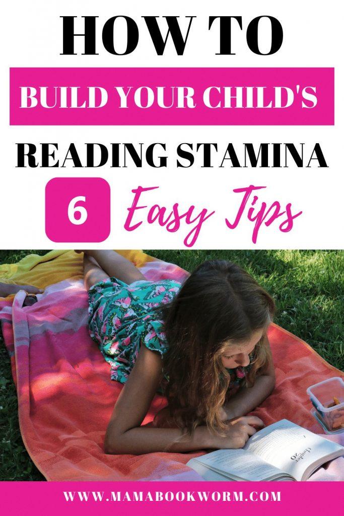 how to build reading stamina